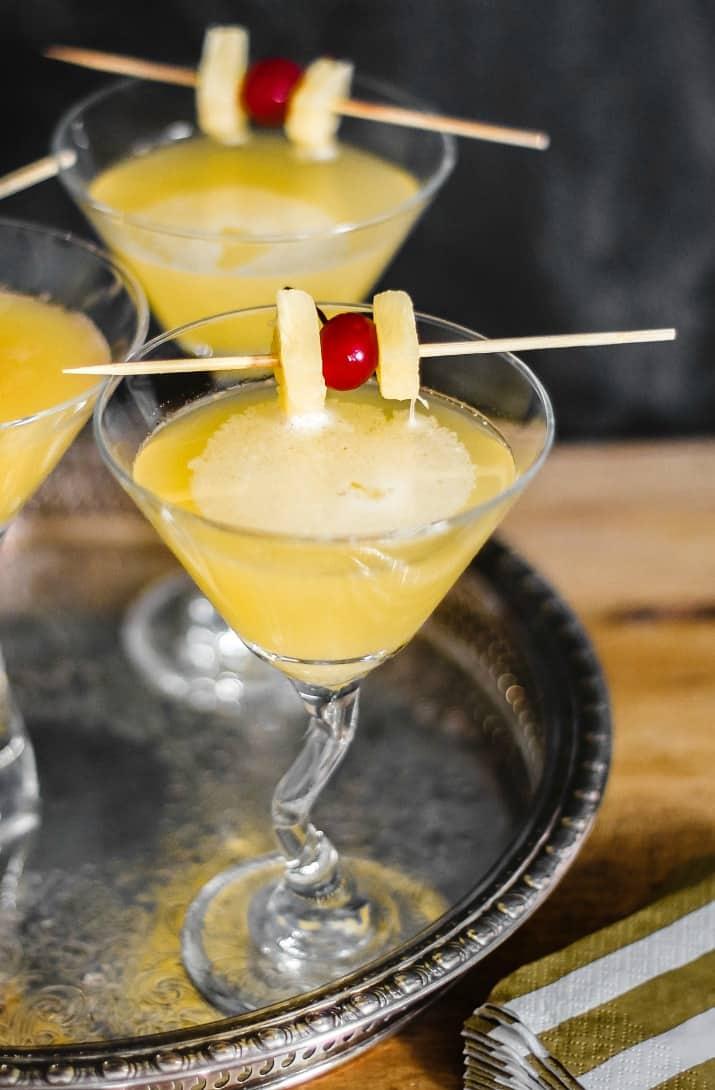 ginger liqueur martini recipe