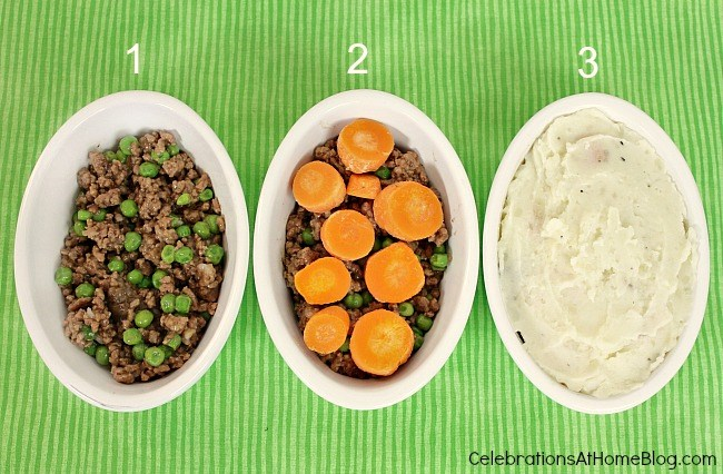 Individual Mini Shepherd's Pies are perfect for St. Patrick's day entertaining.