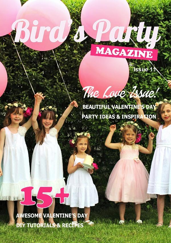 Birds party magazine