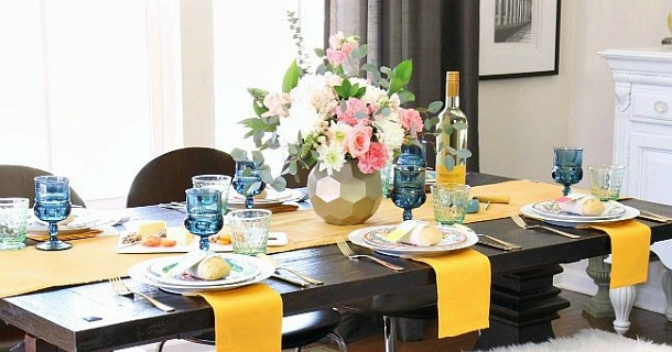 How to Add More Color to the Dining Table