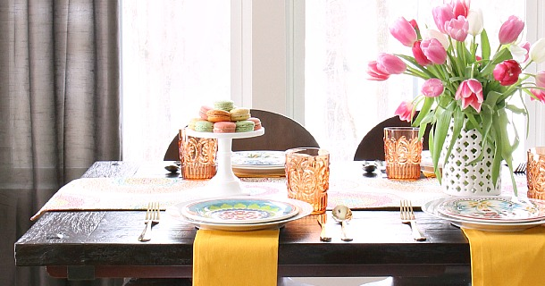Our Home :: Casual Dining in the Morning Room