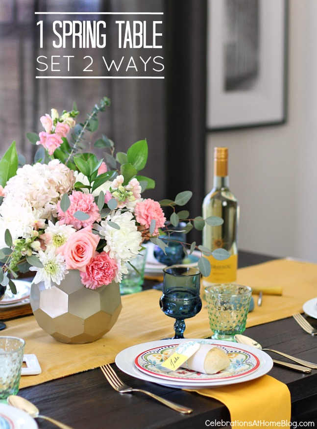 How To Add More Color To The Dining Table Celebrations