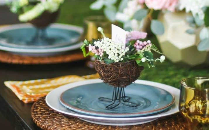 Easter Brunch Entertaining Menu & Tablescape