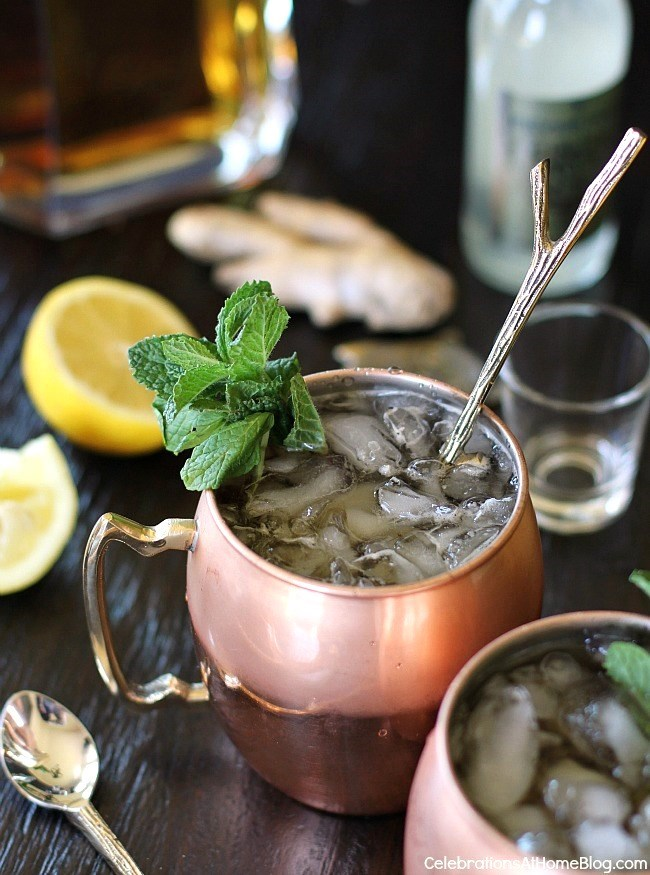 5 Trends in home entertaining - Mule drinks