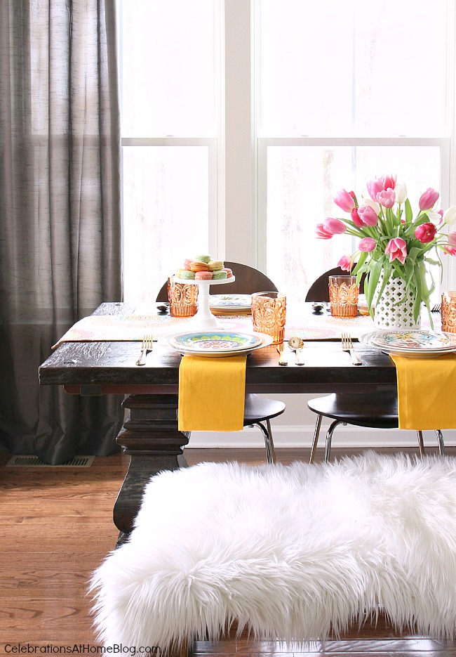 casual dining room tour