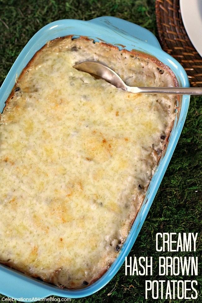 creamy hash browns recipe