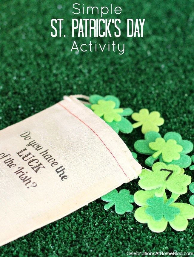 St. Patrick's day lucky 7 game