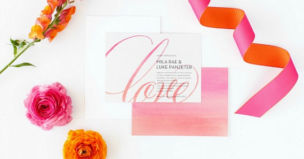 Beautiful Wedding Invitations from Shutterfly