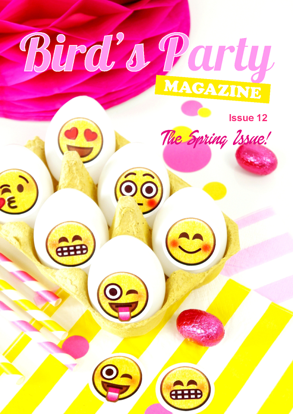 Bird's Party Mag - Spring issue