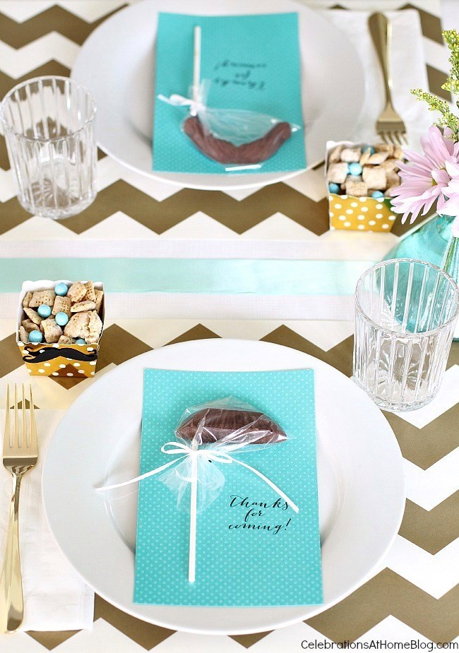 baby shower sip and see aqua and gold