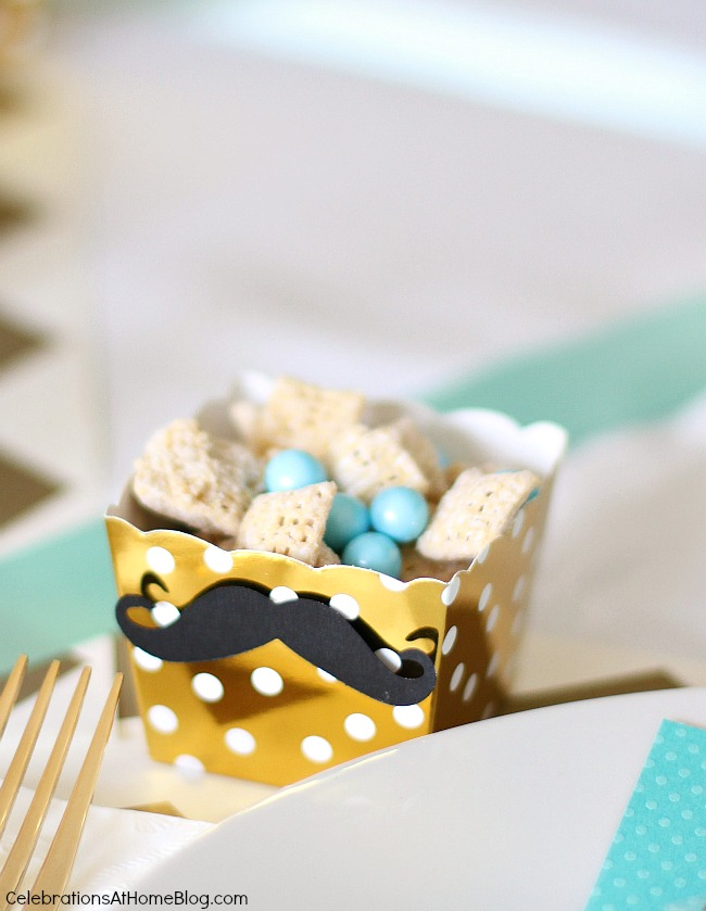 baby shower sip and see snack cups