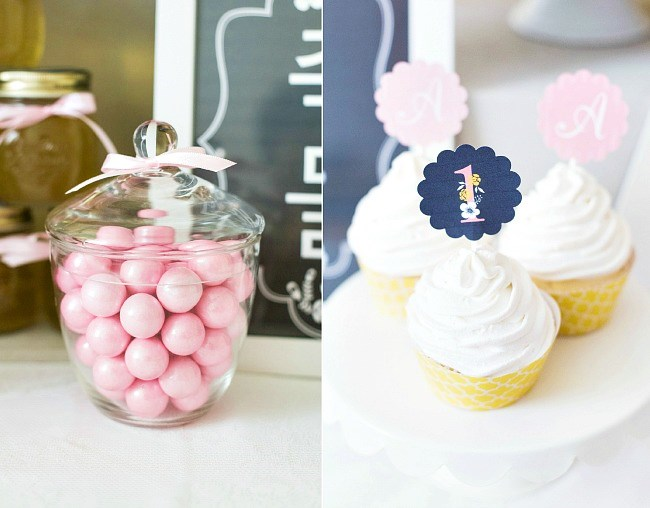 1st birthday party dol celebration ideas. This pretty party will inspire you and showcase ideas for a sweet girls special day.