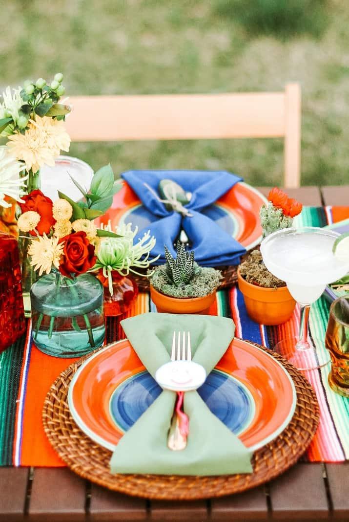 cinco de mayo tablescape and party ideas