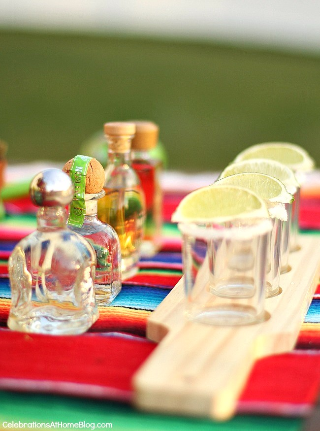 You'll love these entertaining and party ideas for Cinco de Mayo - tequila tasting