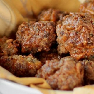 best sausage cheese balls appetizers recipe