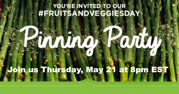 Join Our #FruitsAndVeggiesDay Pin Party