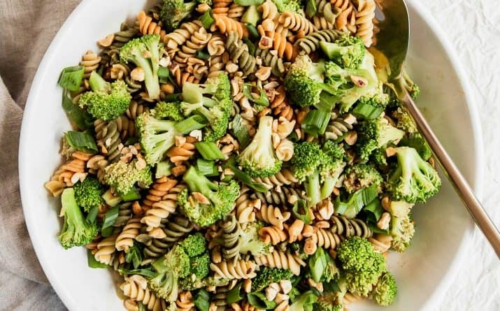 pasta salad with broccoli and peanuts recipe