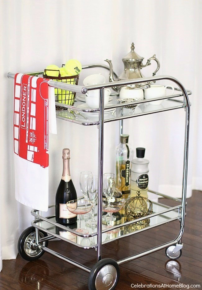 Brunch tea cart