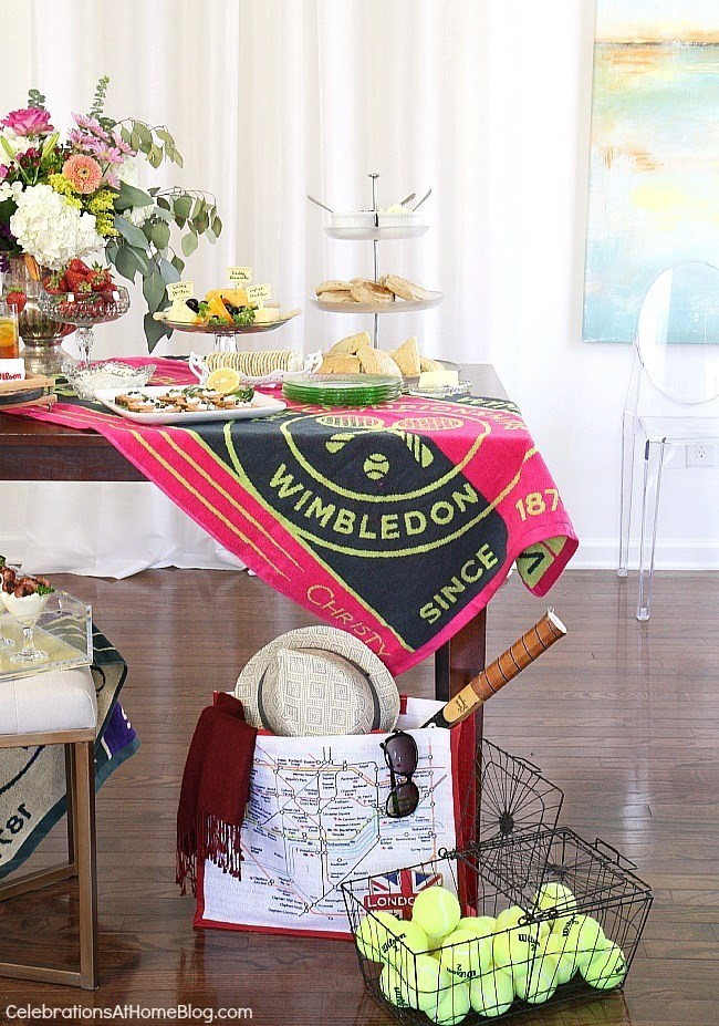 Host a Wimbledon brunch party to watch the big match with friends. These tennis party ideas include decorating tips, a playful brunch menu with recipes, and lots of inspiration!