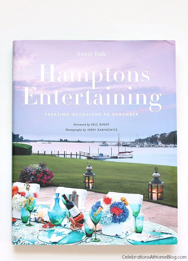 A peek inside the book Hamptons Entertaining by Annie Falk
