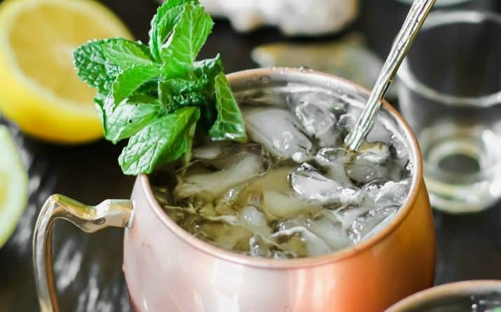 Kentucky Mule Iced Tea Cocktail