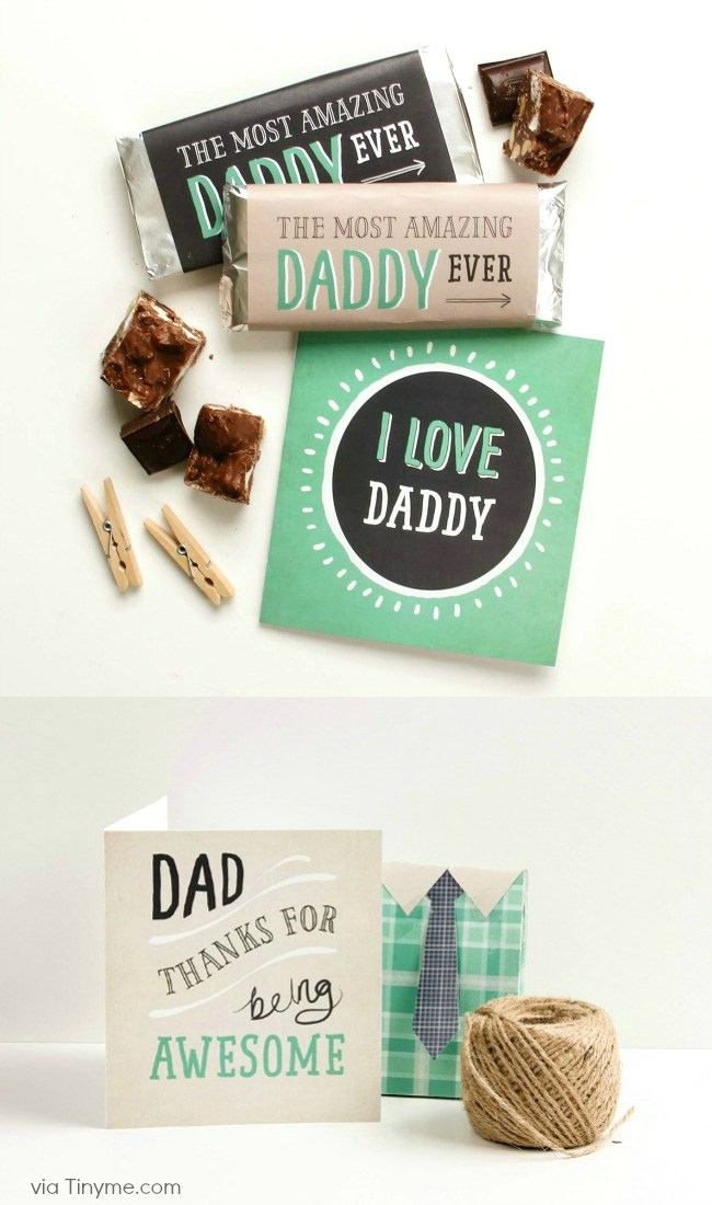 Get these fun Fathers day ideas & Free Printables.