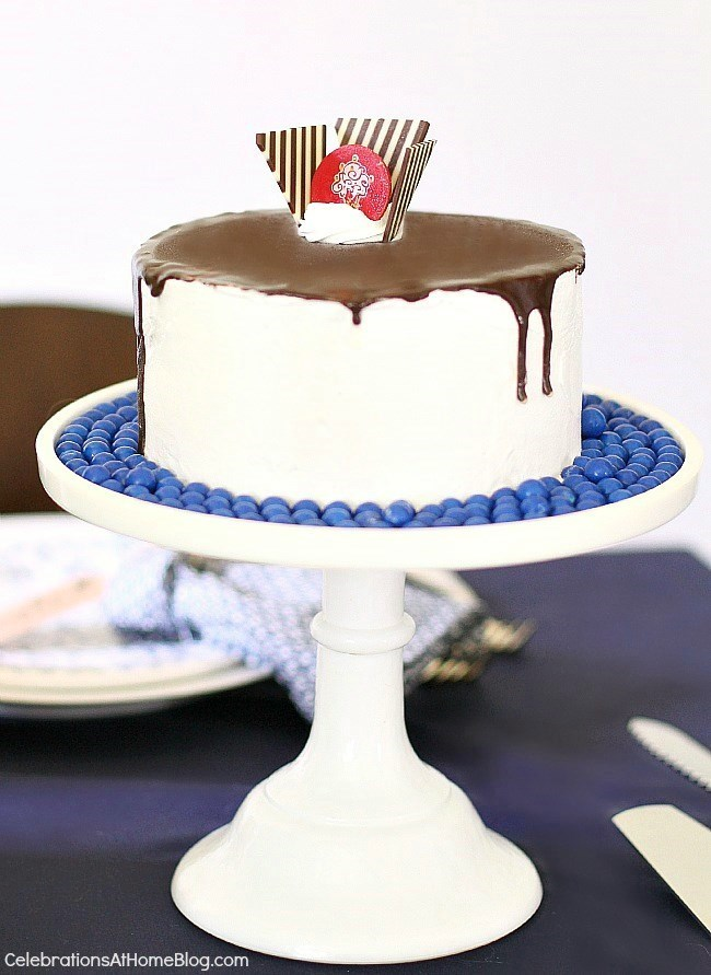 Celebrate Father's Day with this Tall, Dark, and Delicious cake!