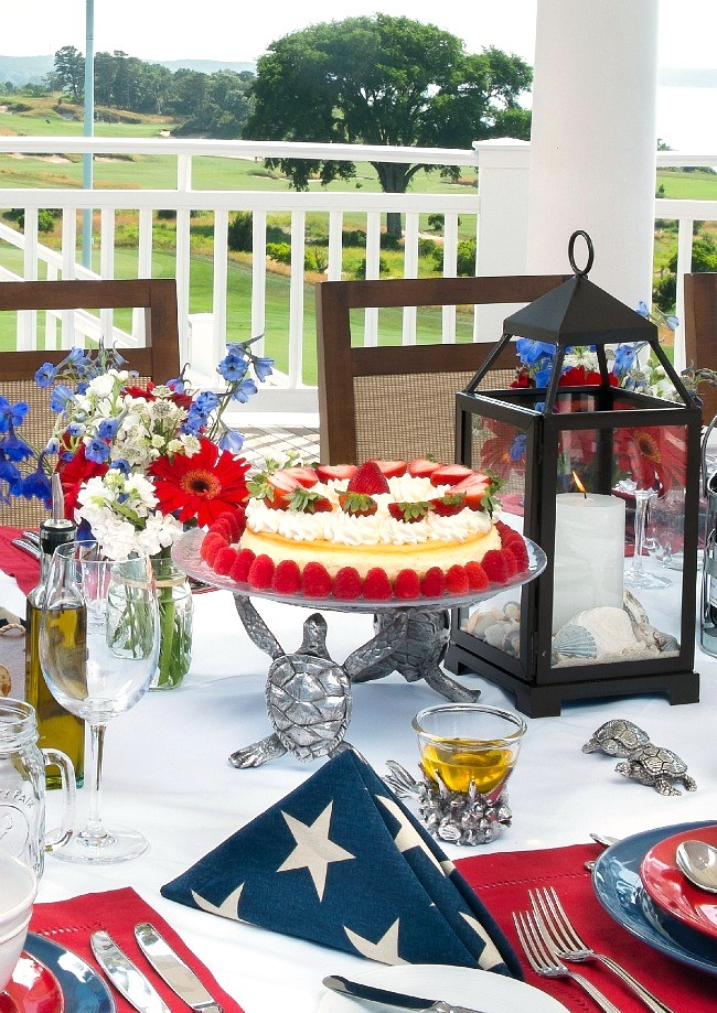 Host a summer party with ideas and recipes from the book Hamptons Entertaining by Annie Falk