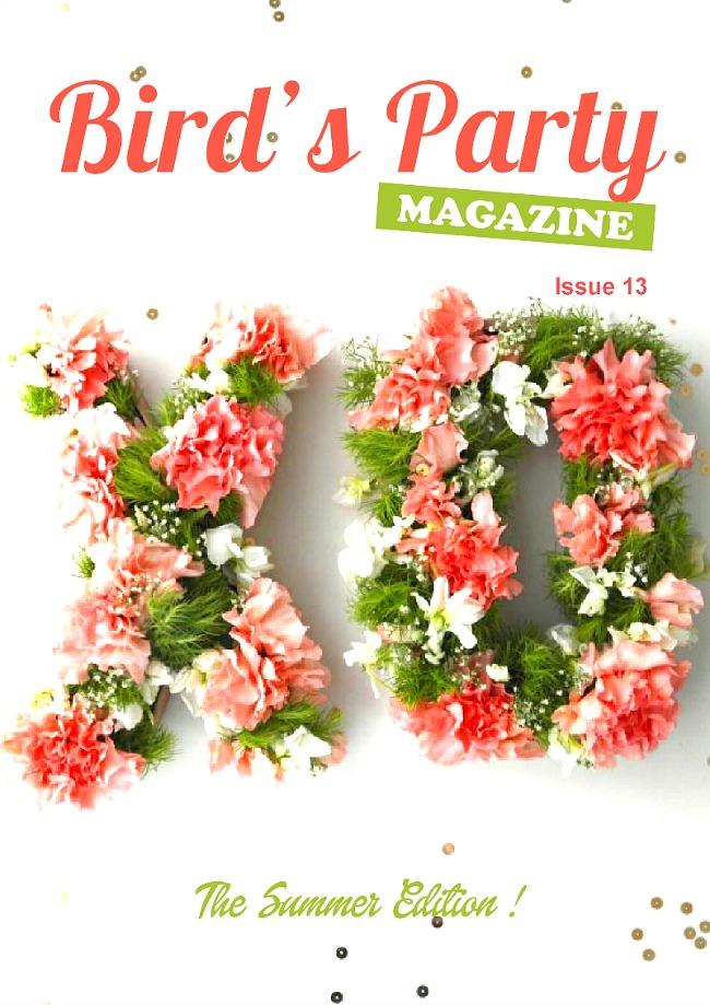 Birds Party magazine Summer edition