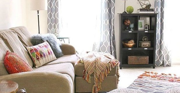Bonus Room Decor :: Boho-Chic Style