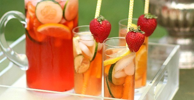 Easy Pimm's Cup Pitcher