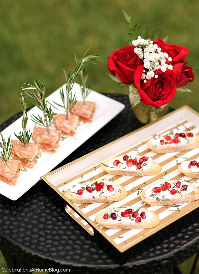 Host a summer soiree with these tips and ideas. Serve easy appetizers that are full of fresh flavor.