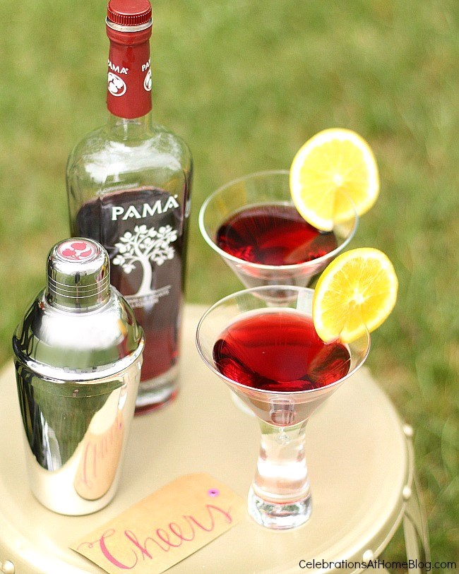 Host a summer soiree with these tips and ideas. Serve a signature cocktail.