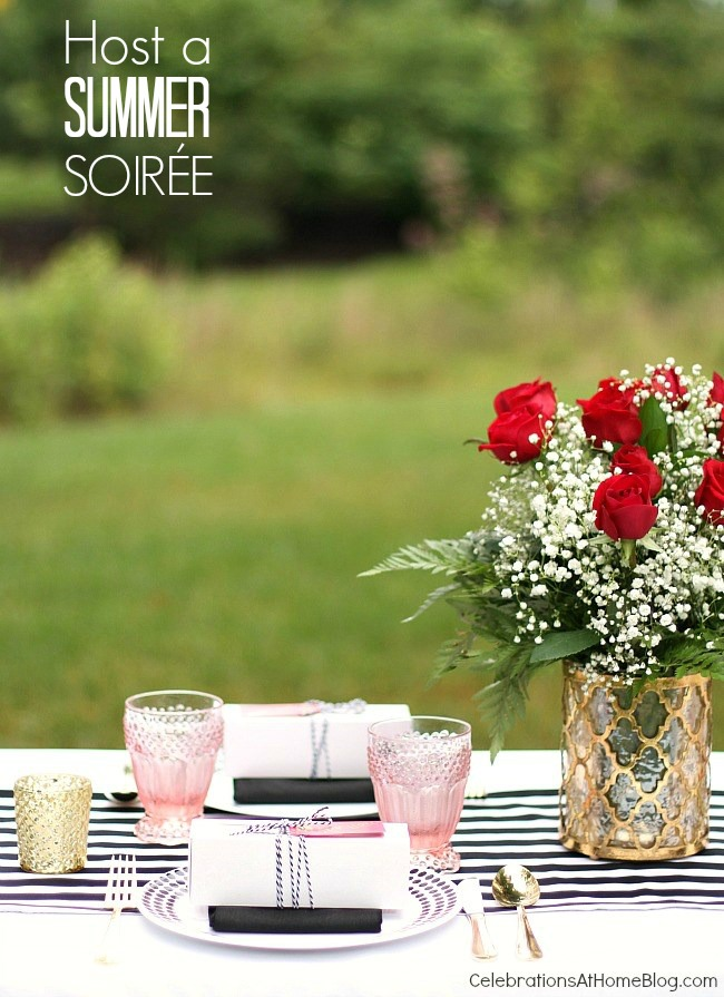 Host a summer soiree with these ideas and inspiration.