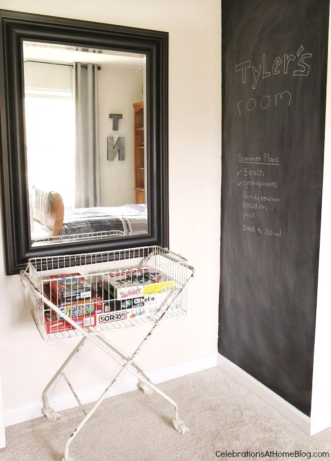 Tips for decorating a 'tween boys bedroom. See how I decorated my son's bedroom so it reflects his personality and helps transition into the teenage years.