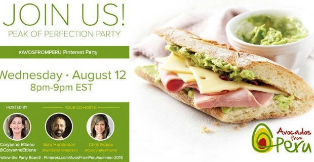 You're Invited to our Pinning Party with #AvosFromPeru