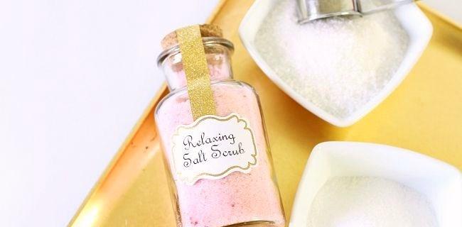 Salt Scrub Favors