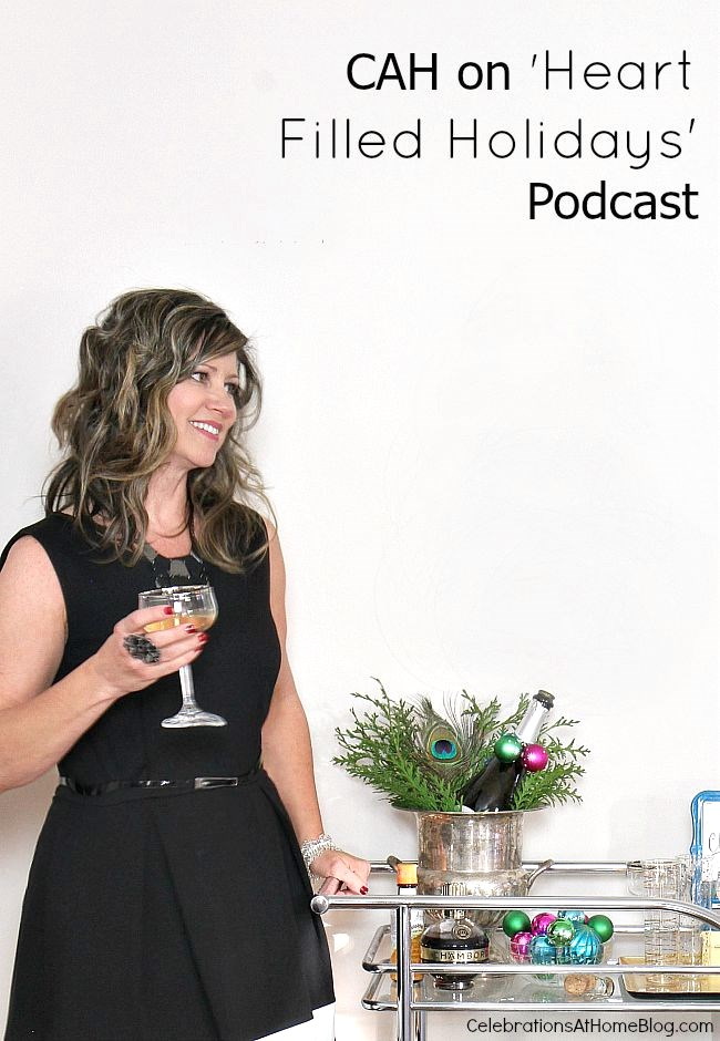 Listen to Chris of Celebrations At Home talk about home entertaining on this podcast.