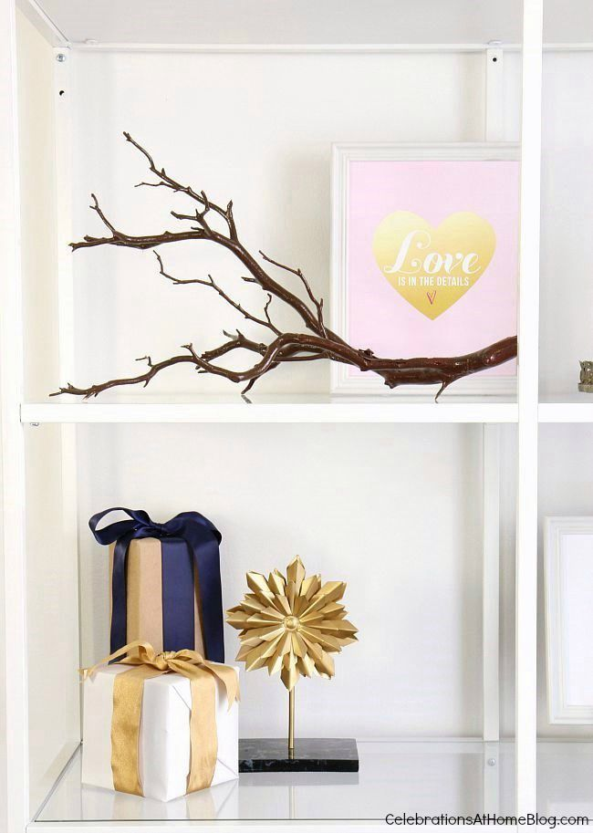 Decorating Shelves In The Dining Room