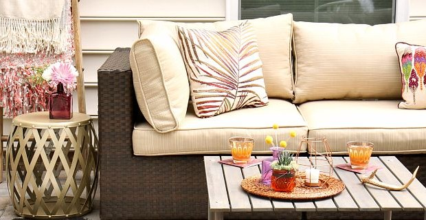 Fall Patio Decor for Entertaining