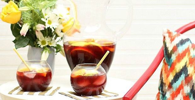 Delicious Spiced Sangria