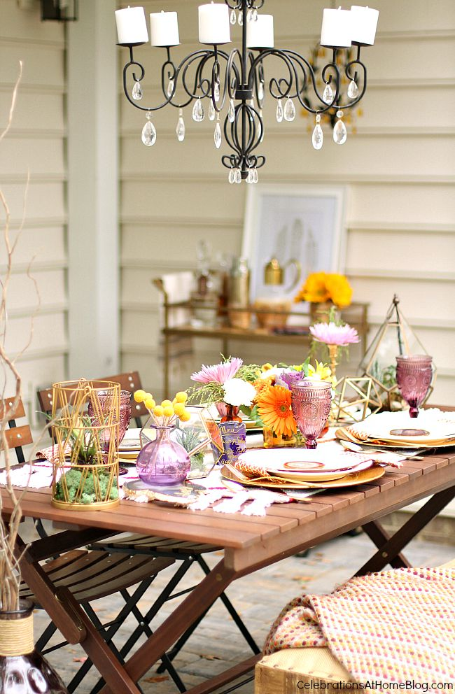Get inspiration for home entertaining with my fall tabletop design featuring the latest trends and a rich color palette; plus tips and tricks to get the look.