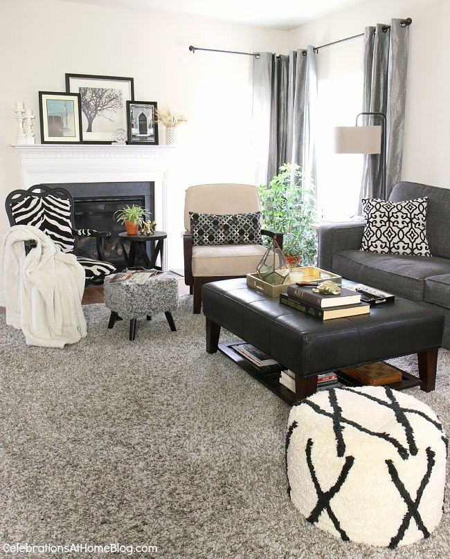 Follow these 6 steps to prep your home for holiday entertaining, plus an entertaining tip for each one, here. - update the living room decor