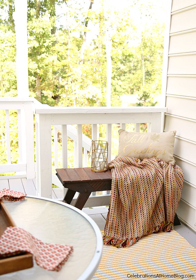 Check out our Fall patio decor for entertaining during these mild weather months.