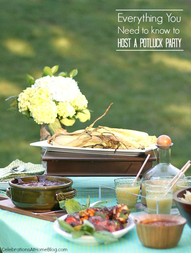 Everything you need to know to host a potluck party.