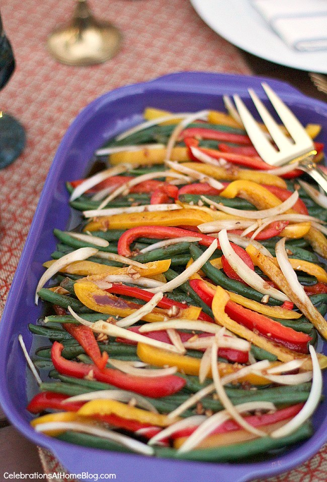 This marinated green bean salad is the perfect make-ahead side dish for holidays or summer potluck. Get the recipe here.
