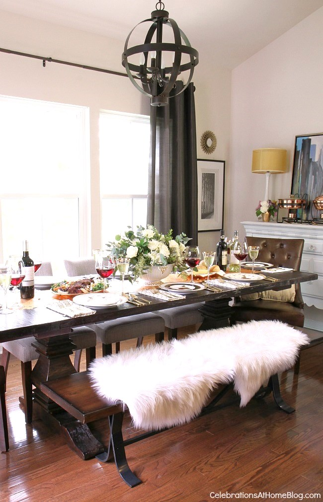 Dining room update holiday entertaining celebrations for Dining room update ideas