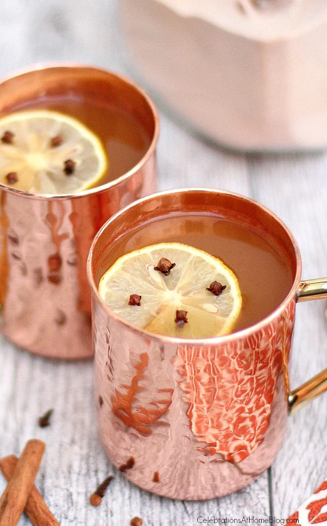 Make this hot Russian tea mix and you'll be ready at a moments notice for a warming treat. Give the mix as a gift too!
