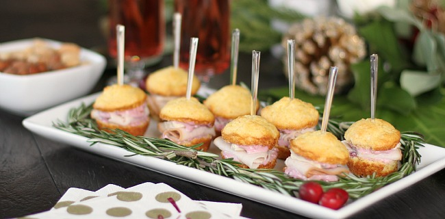 Mini Muffin Appetizers – Party Sandwiches
