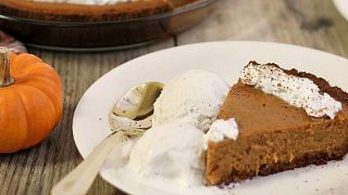 This Easy Pumpkin Pie Recipe is our family favorite!